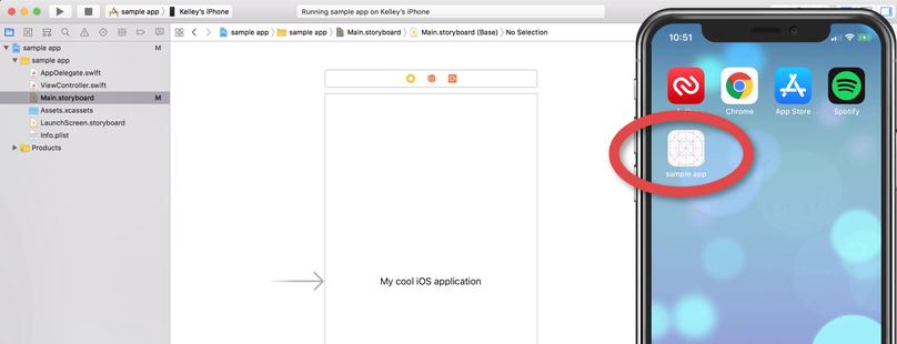 So testest du die iOS-Anwendung auf einem realen Gerät