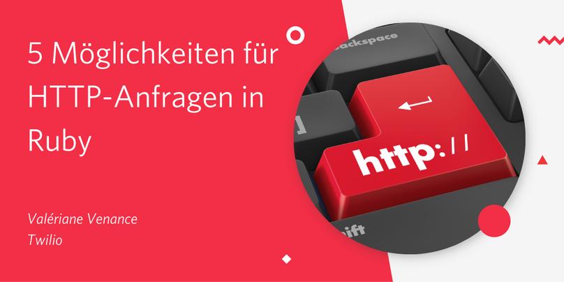 5 Möglichkeiten für HTTP-Anfragen in Ruby