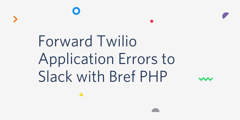 Forward Twilio Application Errors to Slack with Bref PHP