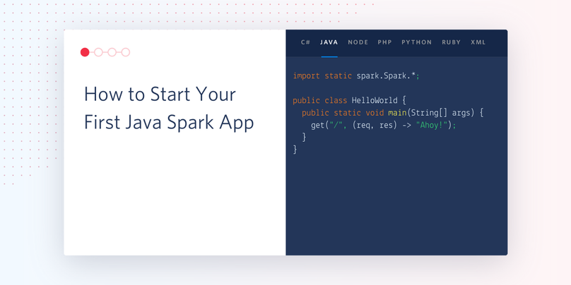 header - How to Start Your First Java Spark App