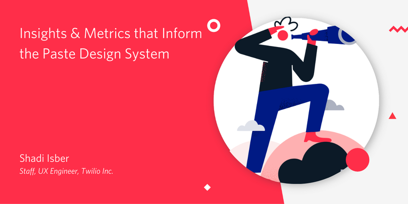Insights and metrics that inform the paste design system banner