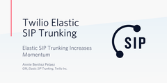 Elastic SIP Trunking Momentum Header