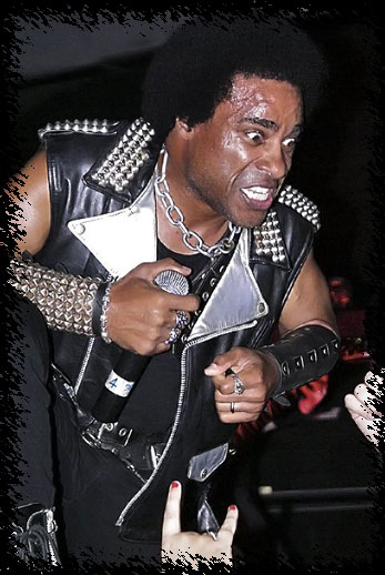 Katon W De Pena, lead singer of thrash metal band, Hirax