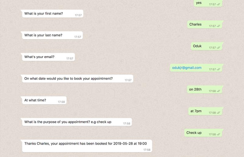 Conversación completa con Autopilot en WhatsApp