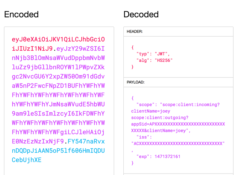 JWT JSON Web Token
