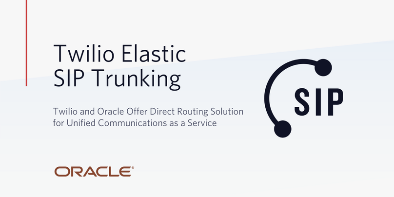 Oracle Twilio Direct Routing