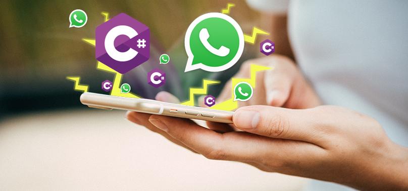 Enviar uma mensagem do WhatsApp em 30 segundos usando C#