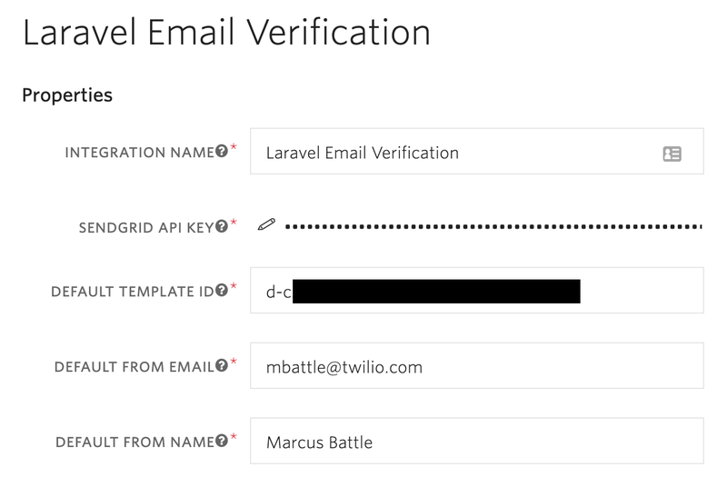 Twilio Verify Integration
