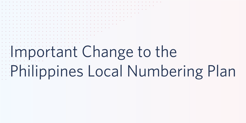 Local Number Philippines Change