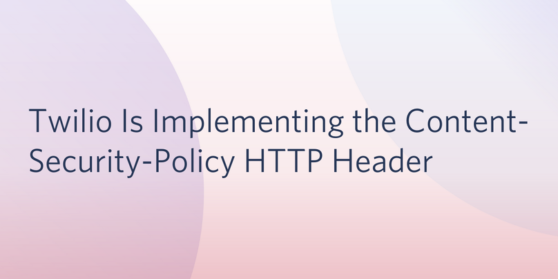 Content Security Policy Header