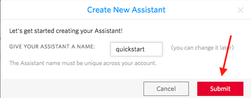 Name your new assistant