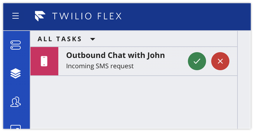 Outbound Chat reservation in Flex