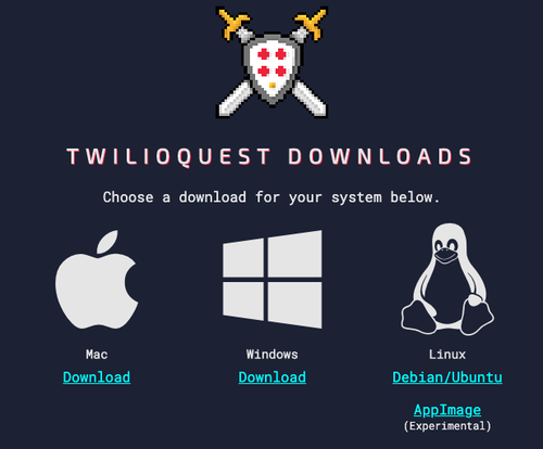TwilioQuest3 - Download