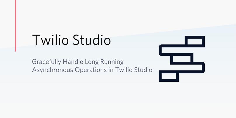 Studio Async Long Running