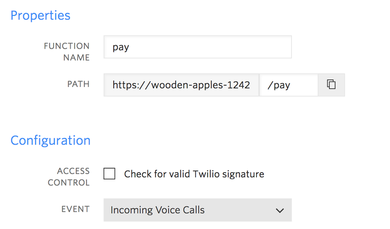Build a function to handle payments