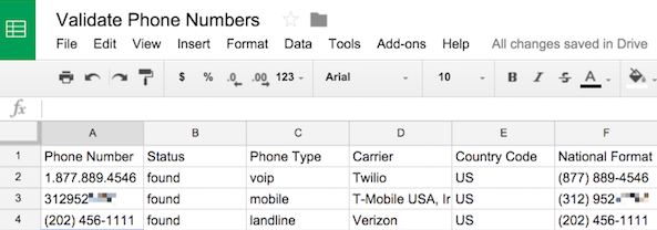 Look Up A Number >> How To Validate And Look Up Phone Numbers In Google