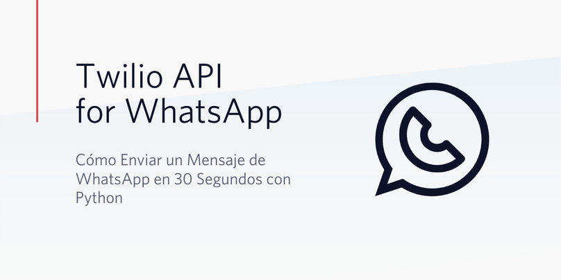30 Seconds Python WhatsApp