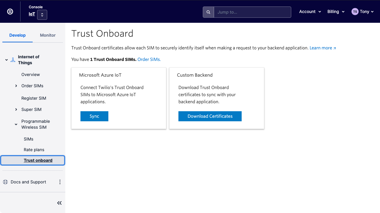sync with azure