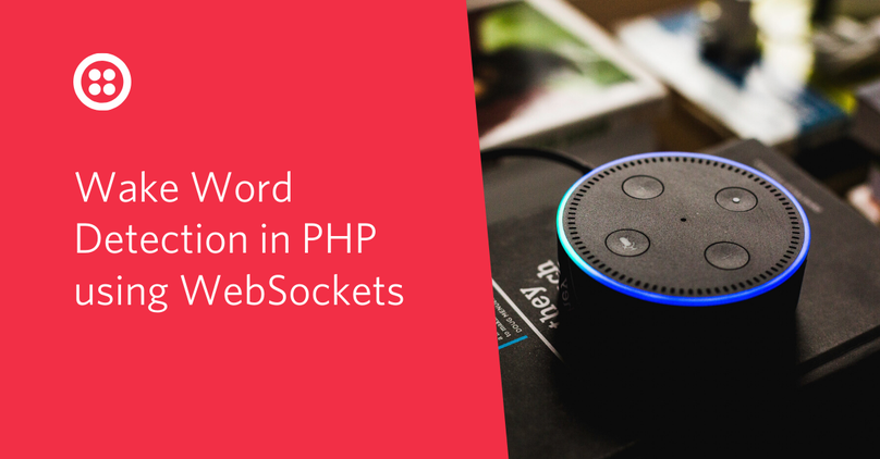Wake word detection in PHP using WebSockets