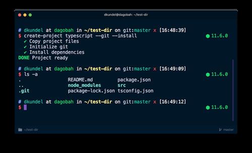 nodejs - cli - install dependencies