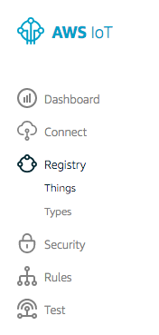 Register a New Thing in AWS IoT