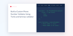 Build a PHP Phone Number Validator Using Twilio and laminas-validator