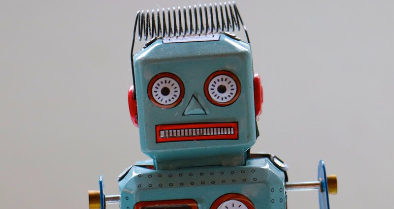 Picture of a bot that isn't too thrilled