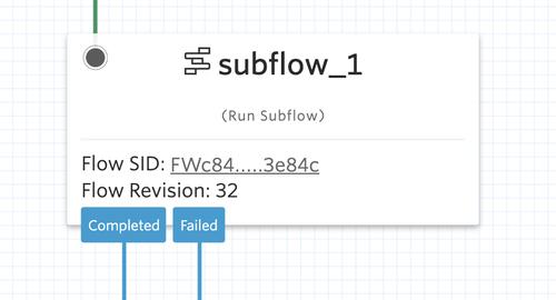 Subflow Widget