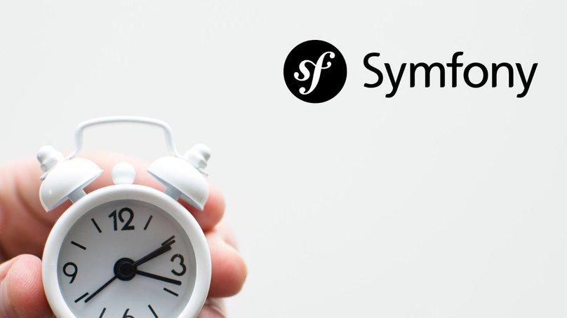Symfony Logo wtih Alarm Clock