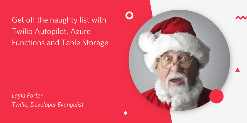 Get off the naughty list header