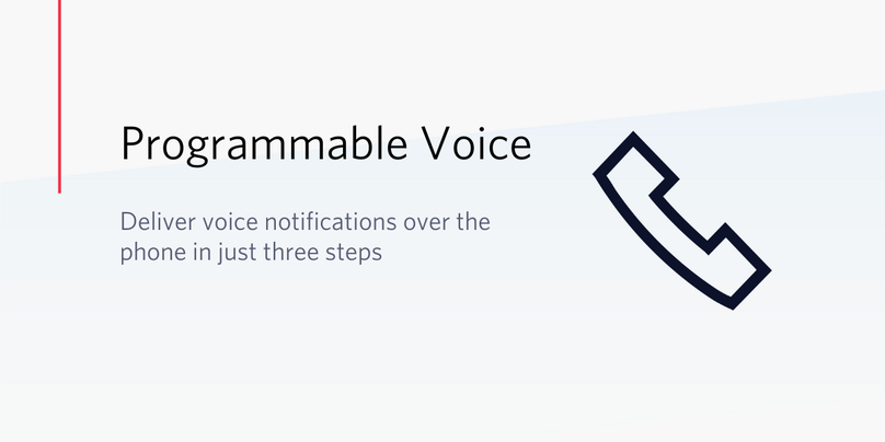 Deliver voice notifications over the phone in just three steps