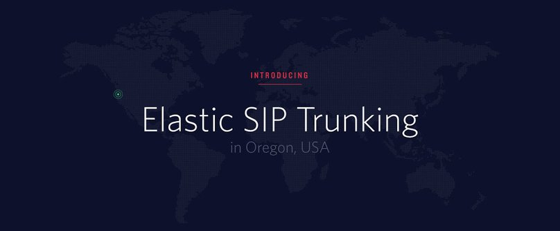 Elastic SIP Oregon