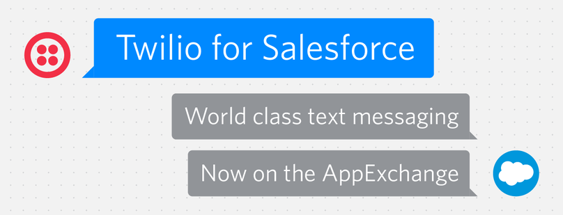 Twilio for Salesforce AppExchange Launch