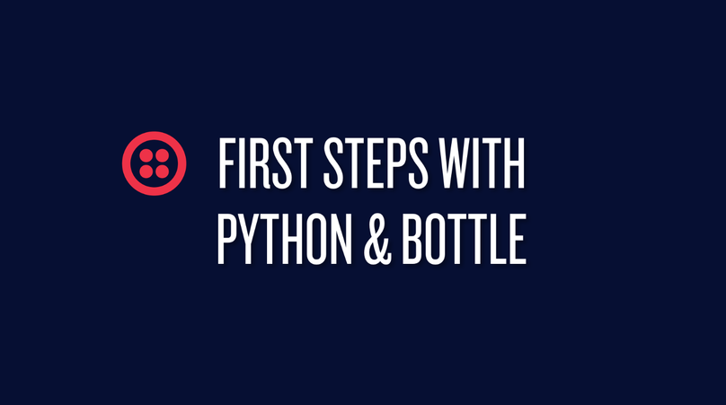 First Steps with Python & Bottle
