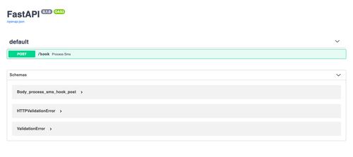 FastAPI's Swagger UI