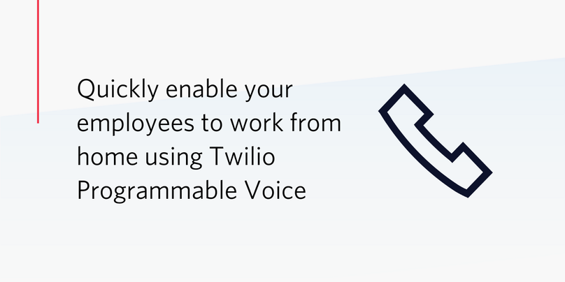 Enable employees to work from h ome