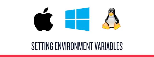 environment variables - header