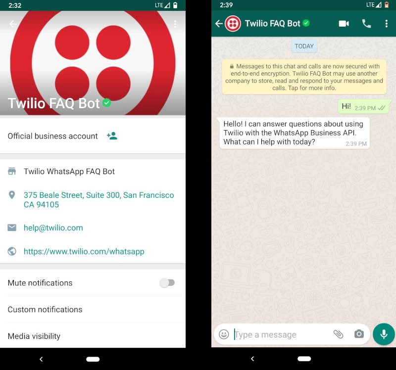 Using Whatsapp Business Accounts With Twilio Twilio