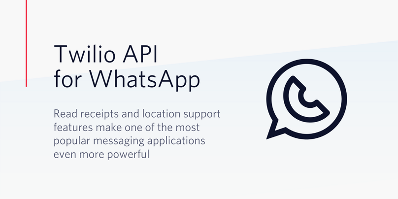 New rich messaging features support deeper customer engagement on Twilio API for WhatsApp