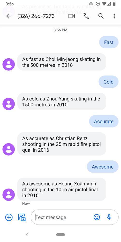 A screenshot of the app