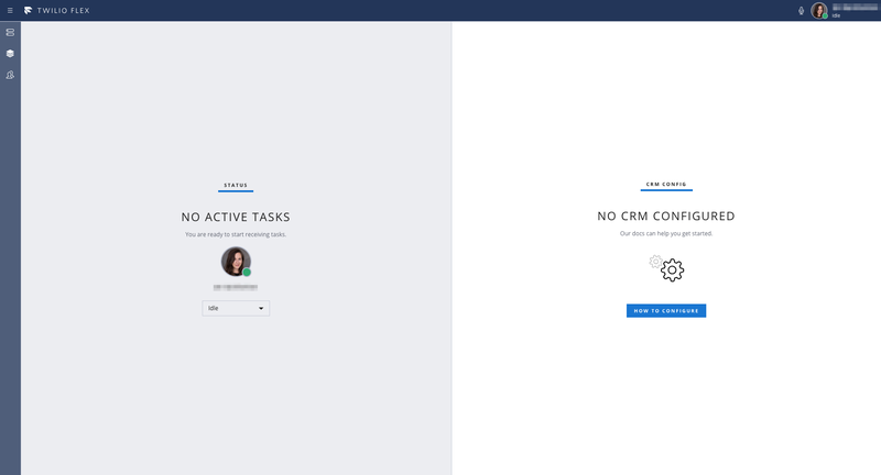 Interfaz de usuario de Flex de forma predeterminada