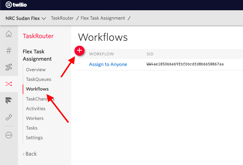 How to create a new TaskRouter workflow