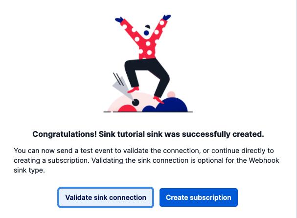 sink has been created