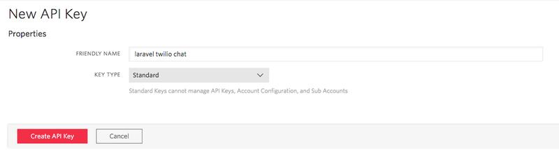 Twilio API Key