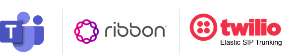 Twilio Joins with Ribbon to Expand Global SIP Trunking Solutions for Microsoft Teams - Twilio