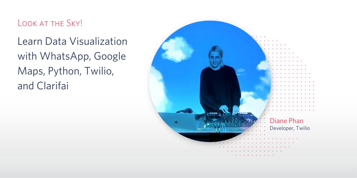 Visualize Image Data with Google Maps, Twilio, Clarifai, and Python - Twilio